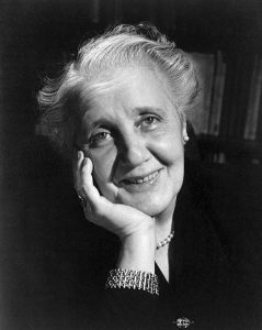 Famous psychologists Melanie_Klein_1952