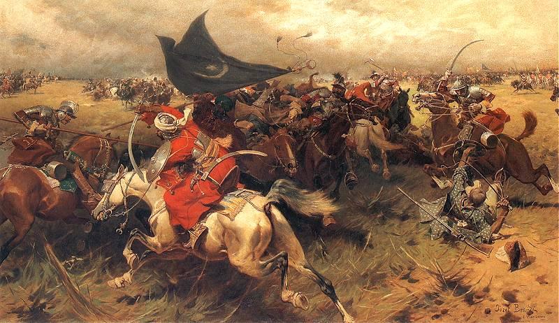 Walka_o_sztandar_turecki heroic cavalry charges