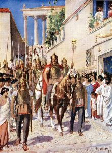 alaric_entering_athens Germanic Tribes