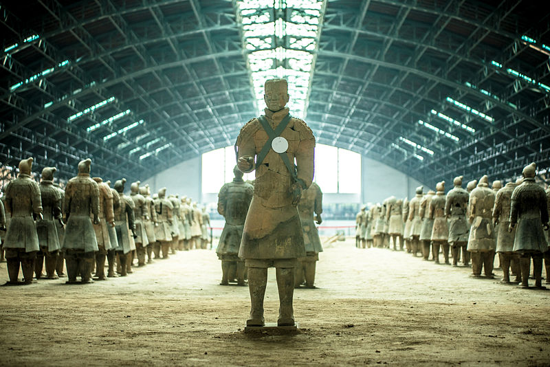 Terra Cotta Army arquero_uno_de_los_8000_guerreros_de_terracota_-_at_terracotta_warriors_of_xian-_15547029848