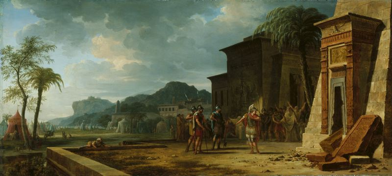 Military strategists valenciennes_pierre-henri_de_-_alexander_at_the_tomb_of_cyrus_the_great_-_1796