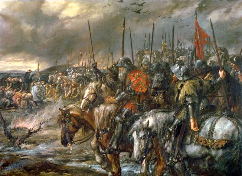 medieval-battlesmorning_of_the_battle_of_agincourt_25th_october_1415