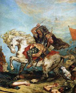 Mythical weaponseugene_ferdinand_victor_delacroix_attila_fragment