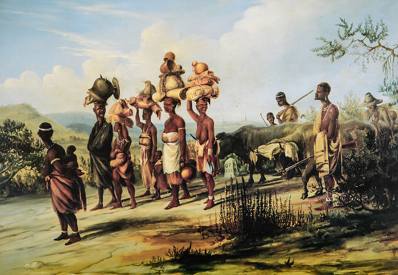 baines1848 African tribes