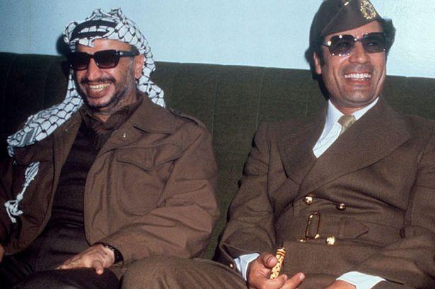 African warlords gaddafi_with_yasser_arafat_1977