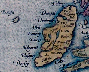 Lost lands ortelius_1572_ireland_map