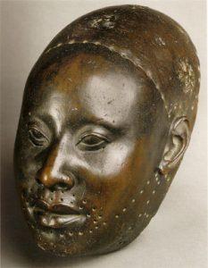 African tribes yoruba-bronze-head