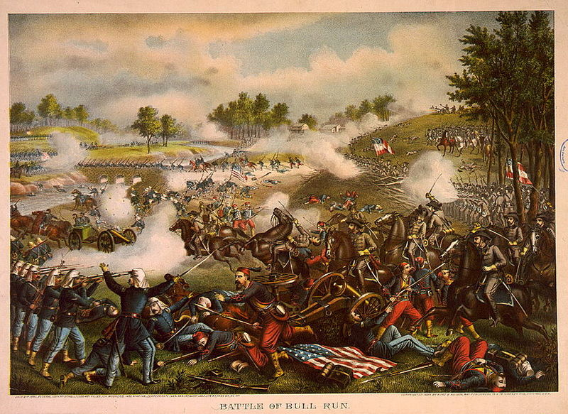 Major battles of the civil warfirst_battle_of_bull_run_kurz__allison
