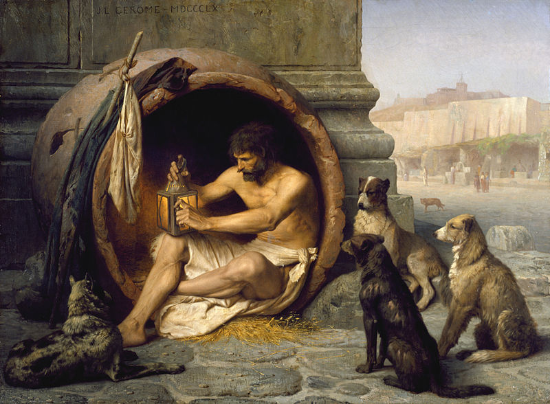 rare mental disorders jean-leon_gerome_-_diogenes_-_walters_37131