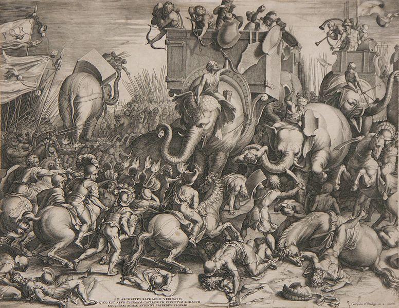 battle tactics slaget_ved_zama_-_cornelis_cort_1567