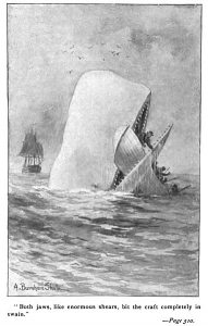 mythical creatures Moby_Dick_p510_illustration