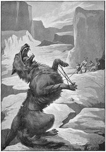 norse mythology-the_binding_of_fenris_by_d_hardy