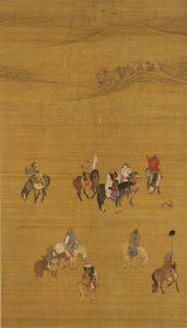 mongol empire KhubilaiOnTheHunt