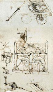 Leonardo da vinci inventions CardDrawing