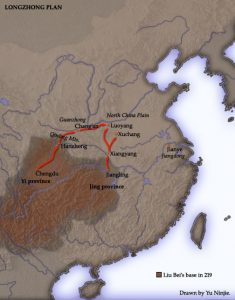 fall of the han dynasty Longzhong_Plan