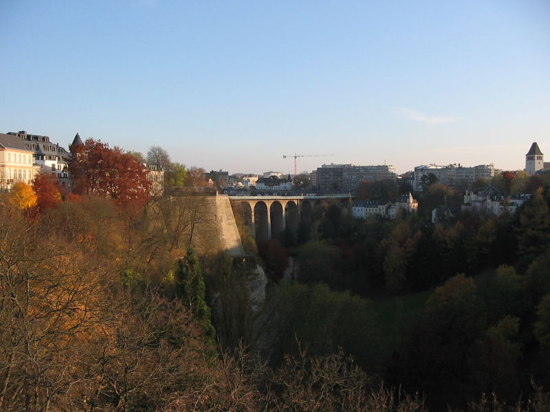richest countries Luxemburg-Petrussetal-Viaduc