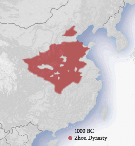 chinese dynasties Zhou_dynasty_1000_BC