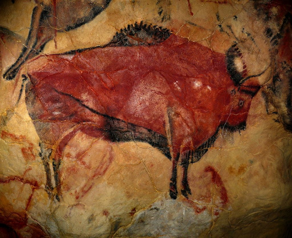 cave paintings AltamiraBison
