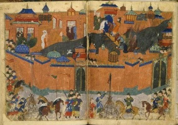 Bagdad1258 genghis khan