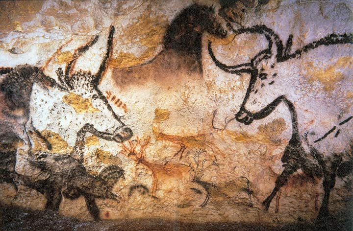 cave paintings Lascaux_painting