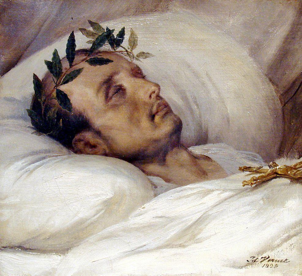 Napoleon_sur_son_lit_de_mort_Horace_Vernet_1826