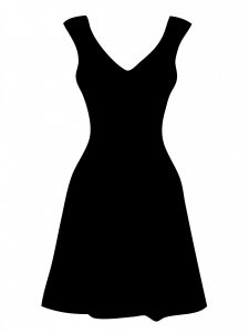 jungian theory black-dress-clipart