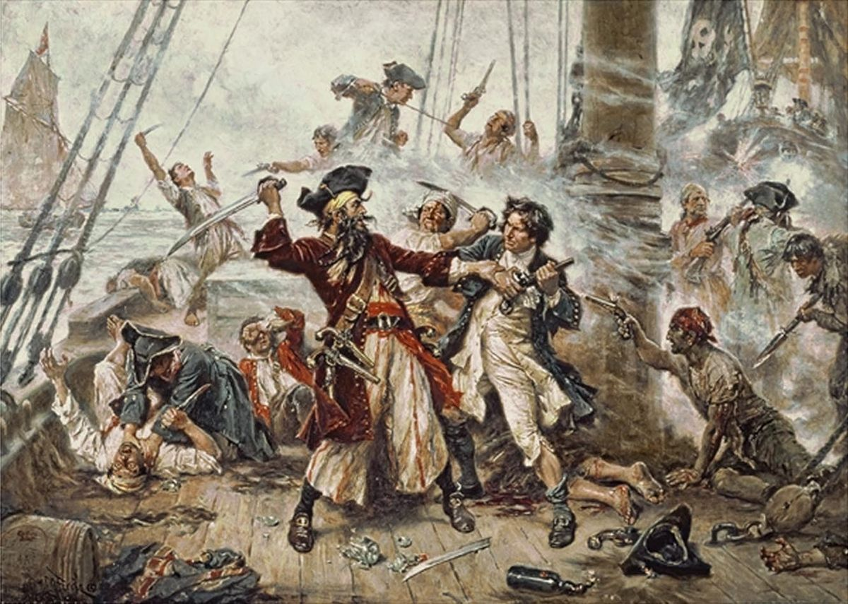 golden ages Capture-of-Blackbeard