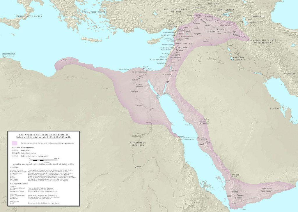 Ayyubid_Sultanate_1193_AD