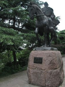 three kingdoms periods Cao_Cao_statue