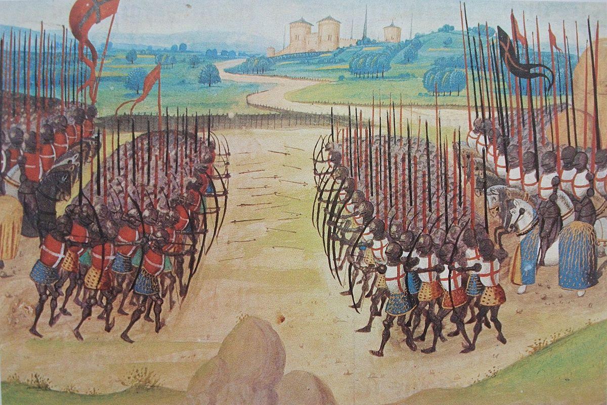 Great battles Schlacht_von_Azincourt