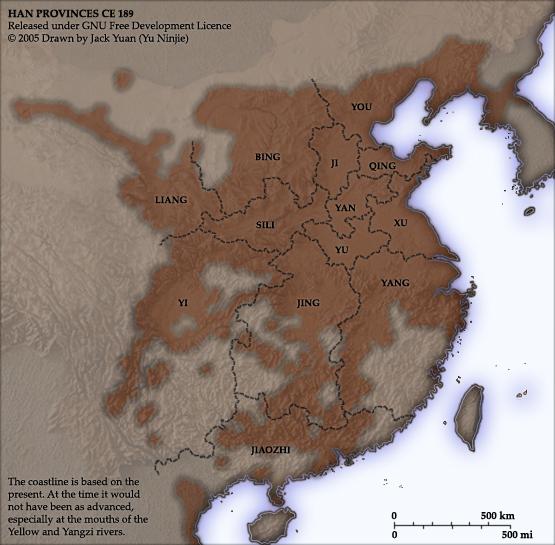 Han_provinces