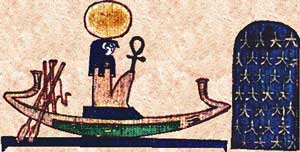 egyptian mythology Ra_Barque