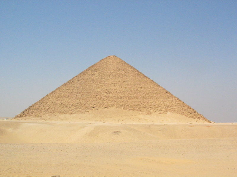 mysterious pyramids Red Pyramid