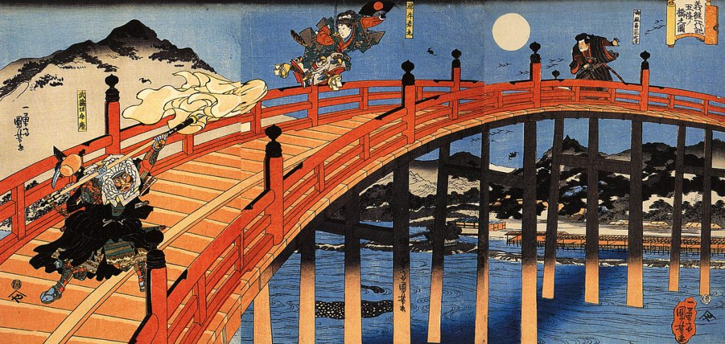 1200px-The_moonlight_fight_between_Yoshitsune_and_Benkei_on_the_Gojobashi,Kyoto