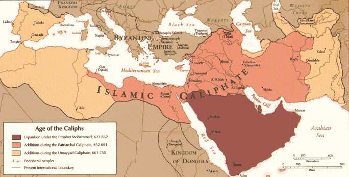 the crusades Age_of_Caliphs