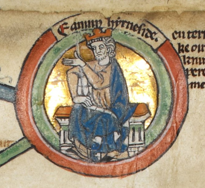 english kings Edmund_Ironside_-_MS_Royal_14_B_VI