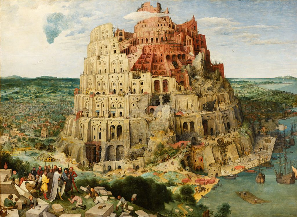 unexplained mysteries Pieter_Bruegel_the_Elder_-_The_Tower_of_Babel_(Vienna)_-_Google_Art_Project_-_edited