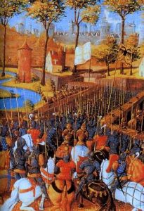 the Crusades Siege_of_Damascus,_second_crusade