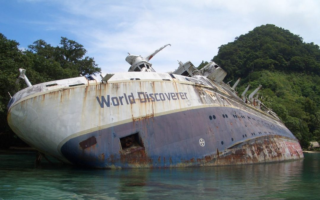 10 Famous Shipwrecks You Won't Believe