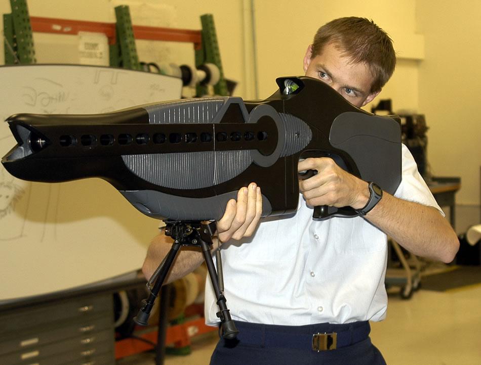 PHASR_Rifle futuristic weapons