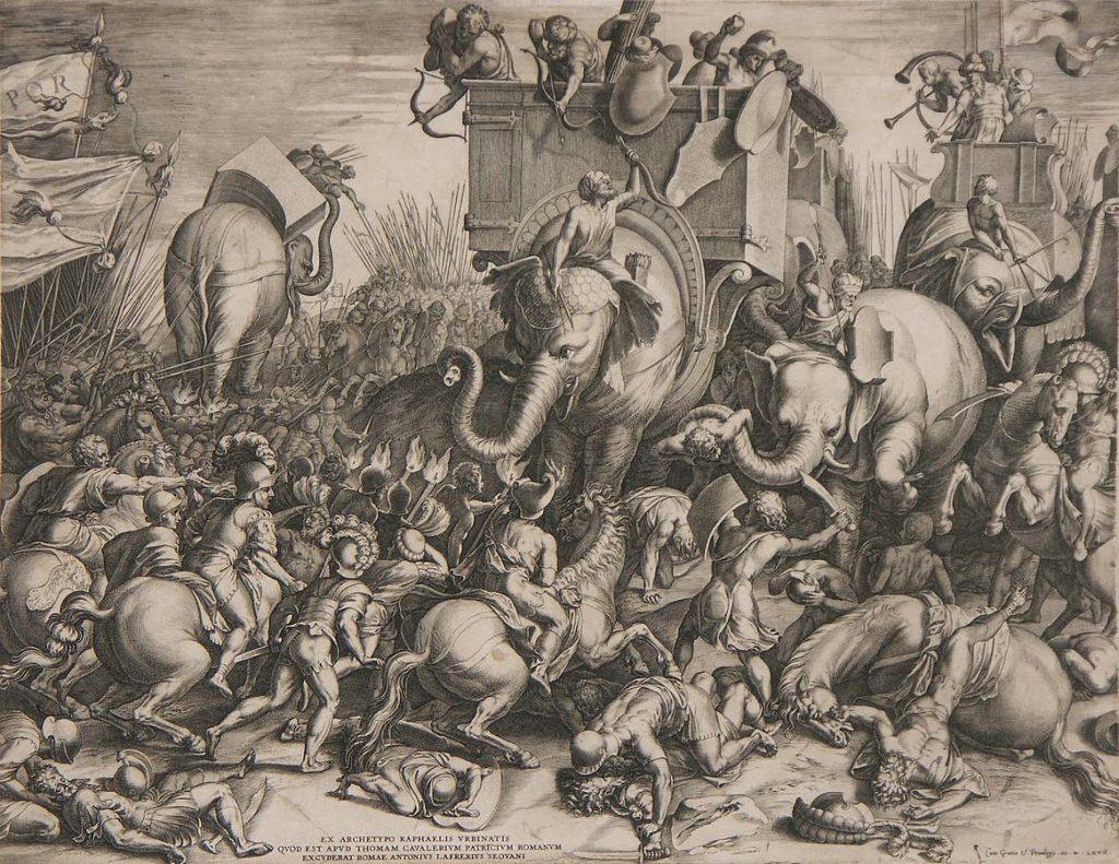 Slaget_ved_Zama_-_Cornelis_Cort,_1567 (1)