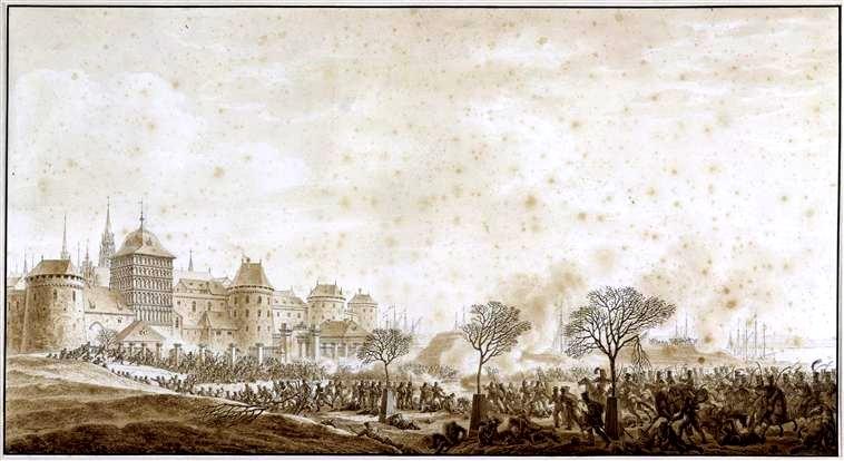 Schlacht_um_Lübeck_1806_-_Burgfeld