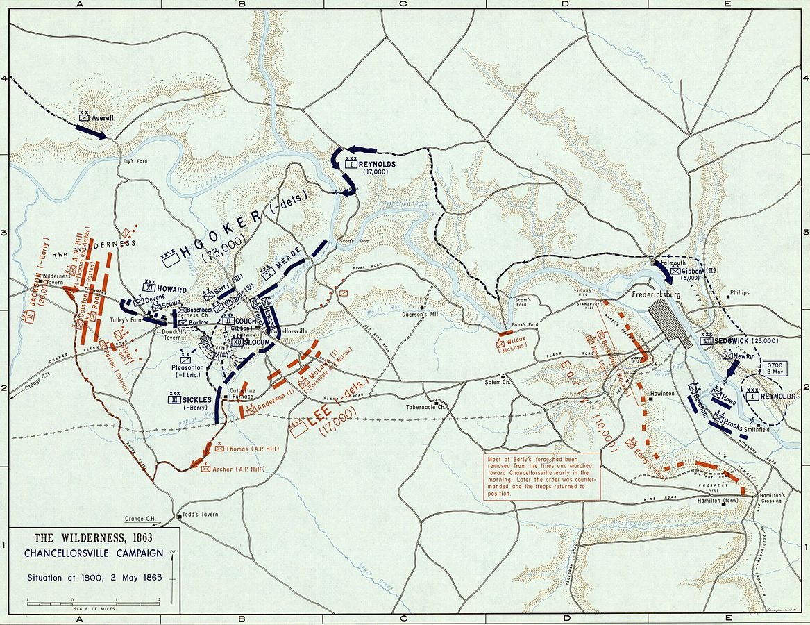 ambushes WPMA03_CHANCELLORSVILLE,_2_May_1863