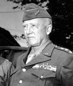 WW2 generals Pattonphoto