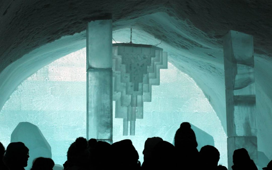 Ice Hotel: The Hotel Made Entirely of Ice