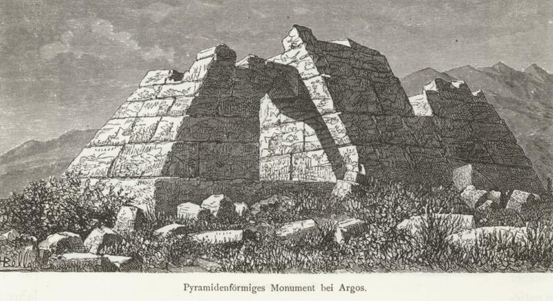 ancient mysteries Pyramidenförmiges_Monument_bei_Argos_-_Schweiger_Lerchenfeld_Amand_(freiherr_Von)_-_1887