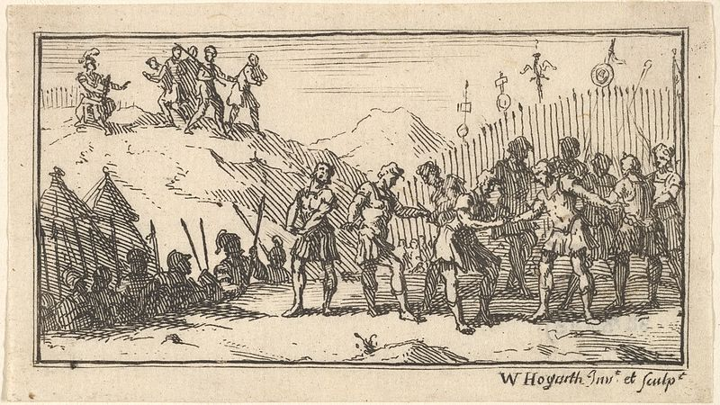 Decimation_by_William_Hogarth_(Beaver's_Roman_Military_Punishments,_Chapter_4,_1725)