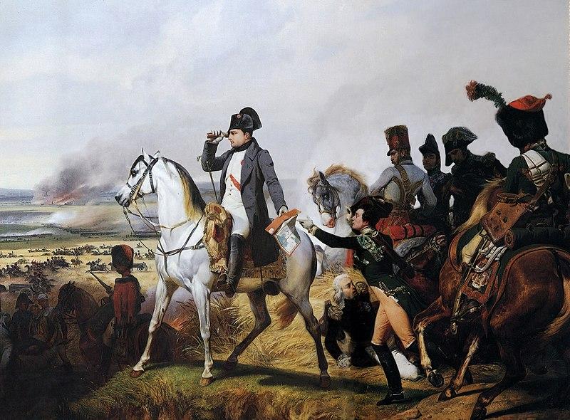 Napoleon attacked by rabbits