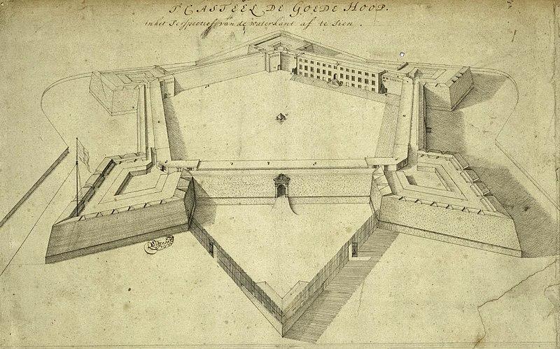 Kasteel_de_Goede_Hoop_circa_1680