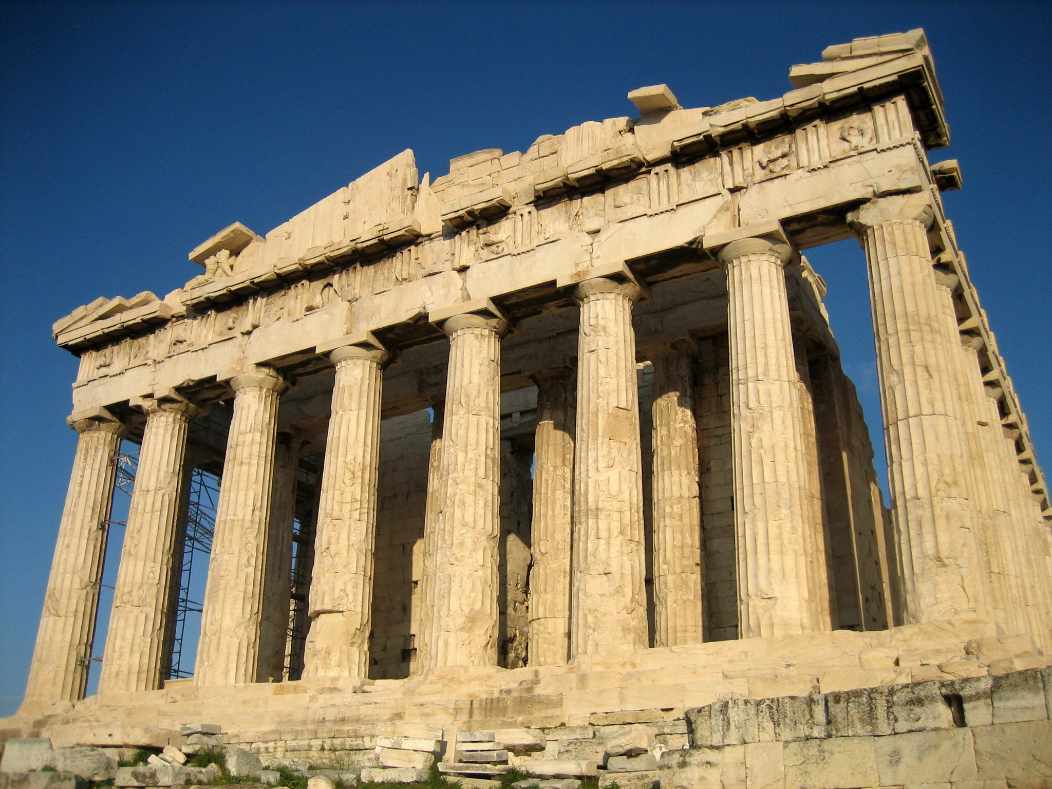 Parthenon_from_west ancient civilisations